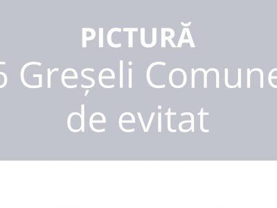 6 greseli in pictură   7culori.com
